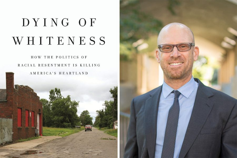 """Keynote speaker Dr. Jonathan Metzl is the author of the bestselling book, """"Dying of Whiteness: How the Politics of Racial Resentment is Killing America's Heartland."""""""