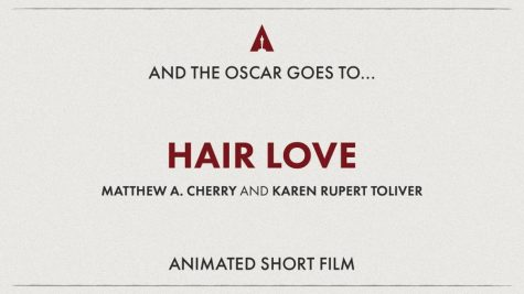 "Actress and writer Mindy Kaling announced ""Hair Love"" as the Best Animated Short Film during the 92nd Academy Awards."