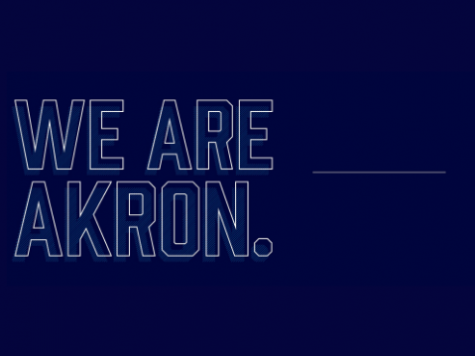 "The University of Akron launched its new fundraising campaign titled ""We Rise Together"" on Feb. 12."