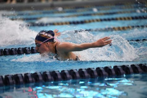 Many members of the Women's Swimming and Diving team broke pool records during the 2020 Mid-American Conference championship.