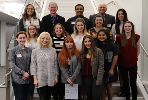 The newly revamped Psi Chi National Honor Society held its first induction ceremony in several years in 2019.
