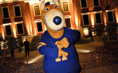 Zippy joined in on the festivities for UA's 150th anniversary.